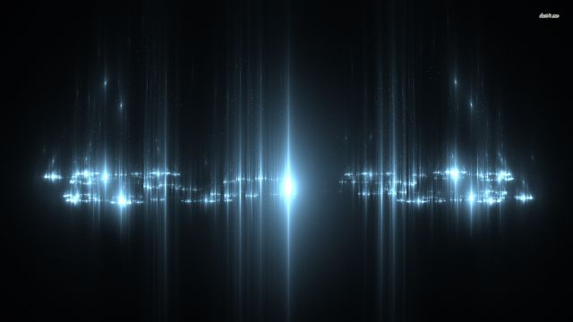 Effet de lumière métalisé 1920x1080