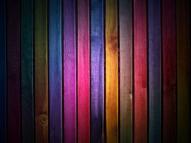 wood slats colors rainbow 2350x1763