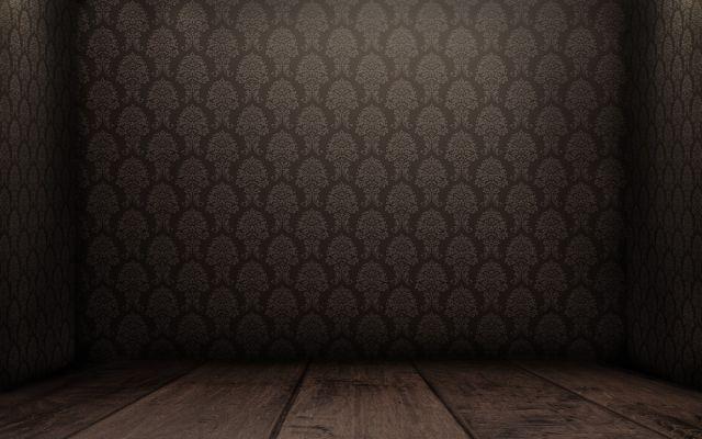 Parquet avec papier peint marron 1600x1000 - Scène (floor) - Galerie ...